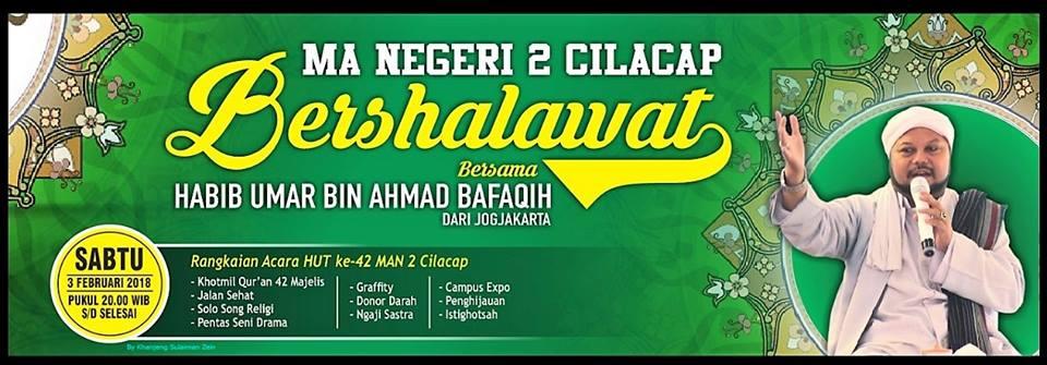 MAN 2 Cilacap Bershalawat